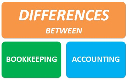 key differences between bookkeeping and accounting