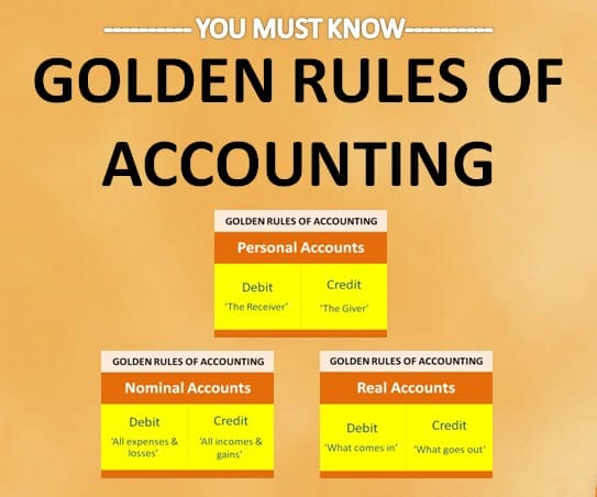 golden rule of accounting